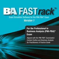 Coperta BA FASTrack™ for the PMI-PBA® Exam
