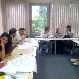 #pmcalacarte – PM Aplicat – Bucuresti, modulul I al grupei Iunie-Iulie, trainer Ilie Dragan