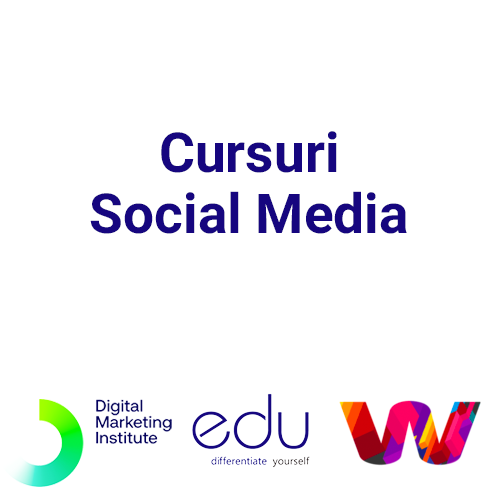 Cursuri Social Media